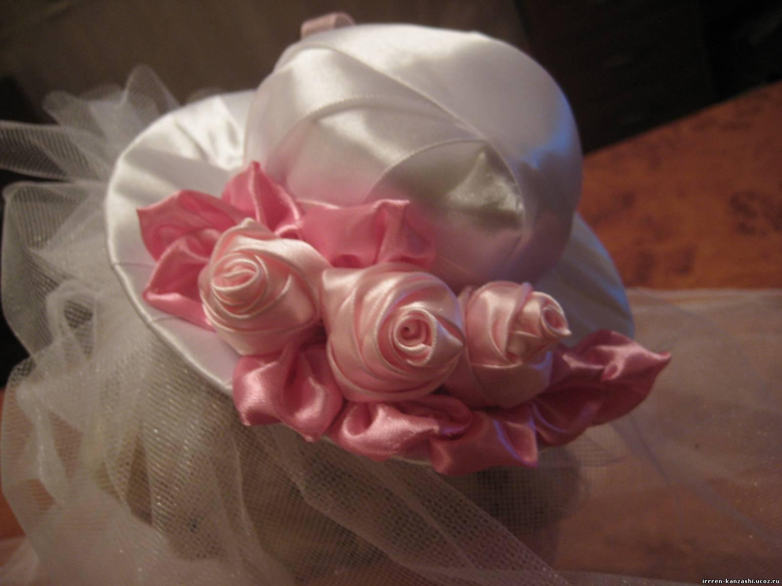 Как сделать шляпку для девочек фото